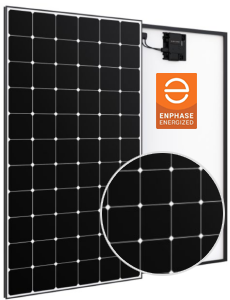 SunPower A Series AC Modules Enphase Energized - Equinox Monitoring & InvisiMount Racking