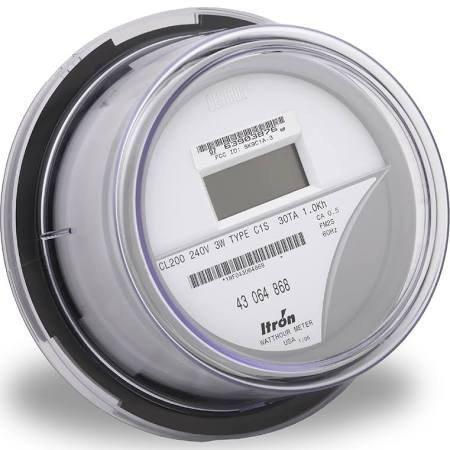 ITRON Kilowatt-Hour Meters SP-IT-CENTRON-C1S
