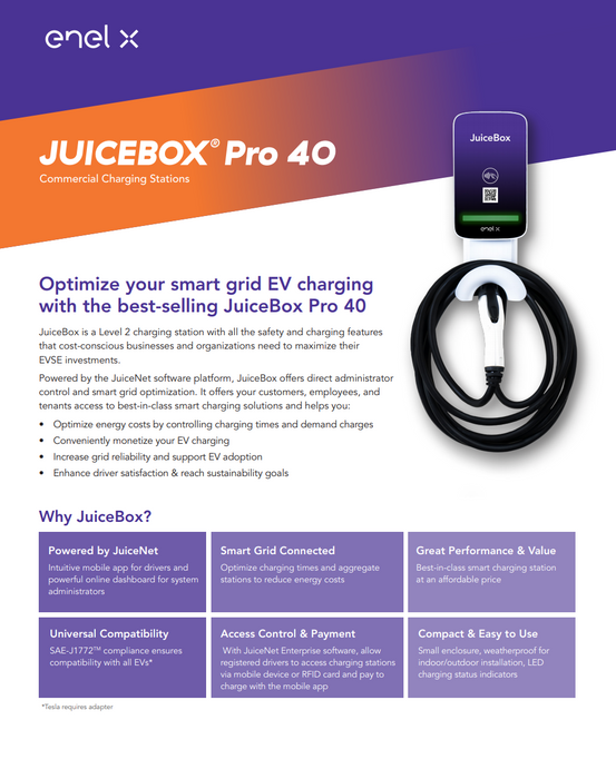 JuiceBox Pro 40 Commercial | Level 2 EV Charger