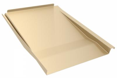 IronRidge Tile Replacement Flashing Tan Flat KOF-F01-T1 Treepublic Solar