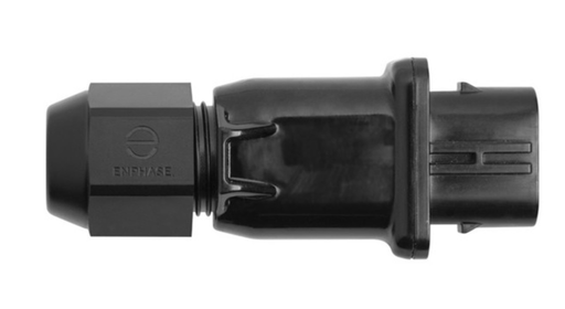 SINGLE Enphase Field-Wireable Q Connector Female | Q-CONN-10F