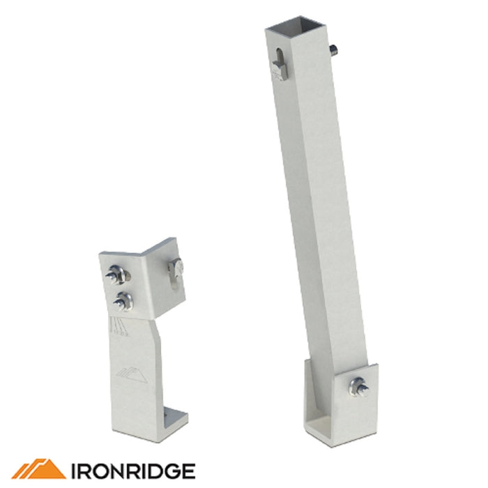 IronRidge Fixed Tilt Leg | TM-FTL-010 Fixed Tilt Leg Mount 10""