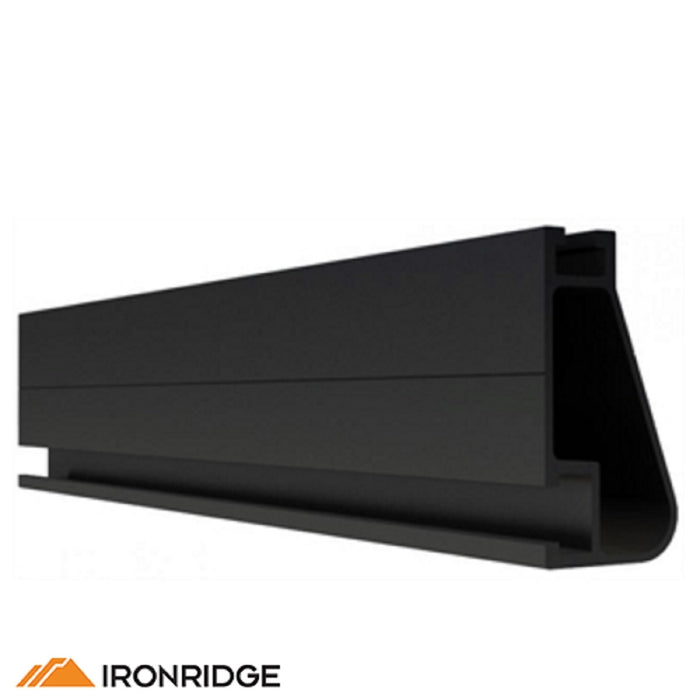IronRidge XR-100 Rail Black Anodized [Single Rail]
