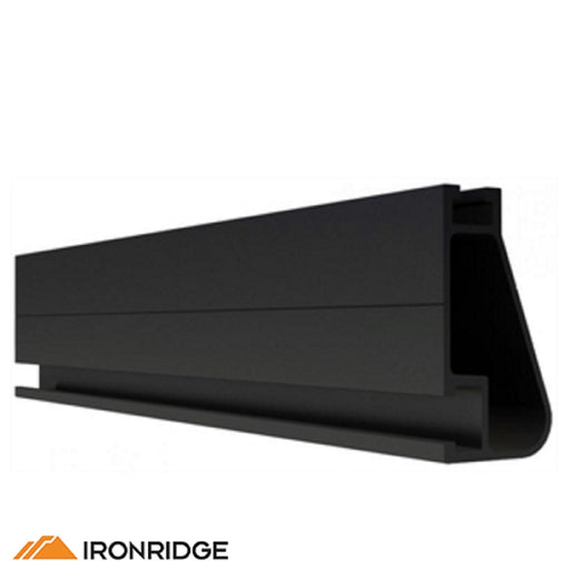 IronRidge XR-100 Rail Black & Clear Anodized [Single Rail]