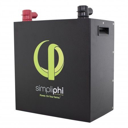 Simpliphi PHI 3.8 BATTERY | Wall Mounted Battery Management