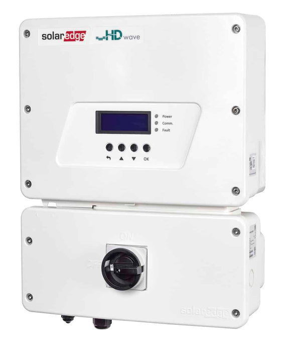 SolarEdge HD-Wave Single-Phase Inverters Grid-Tied System