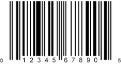 UPC Codes for Bar Wrappers and Bar POS Boxes (2 UPC Codes)