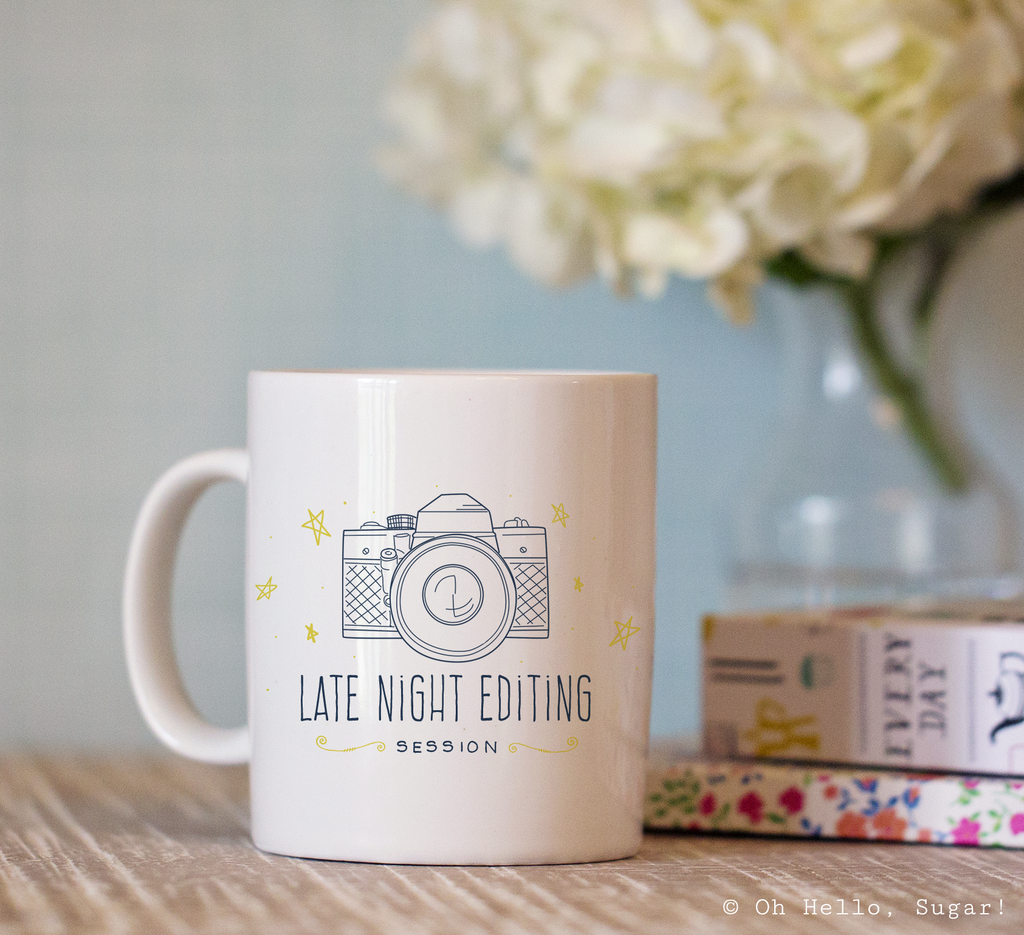 Late Night Editing Session Mug