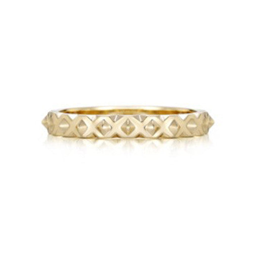 Norwich II 18k yellow gold ring