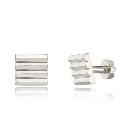 Bardo square cufflinks