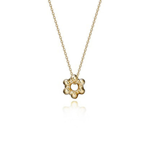 Great Hall 18k yellow gold necklace small