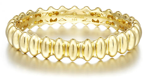 Great hall vermeil bangle