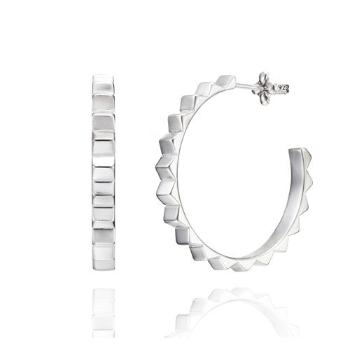 Bardo hoop earrings medium