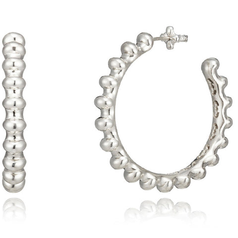 Great hall hoop earrings medium
