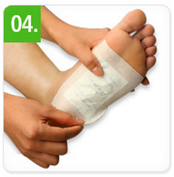 Detox foot patches 2 eller 6 stk.