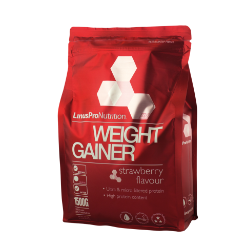 LinusPro Weight Gainer - Jordbærsmag