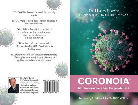 Coronoia® 2nd edition Alcohol sanitisers fuel the pandemic? - Digital copy
