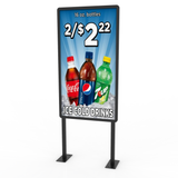 Island Merchandiser Sign - C Store Signs Direct