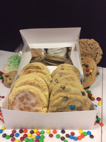 12 Piece Corporate Cookie Box