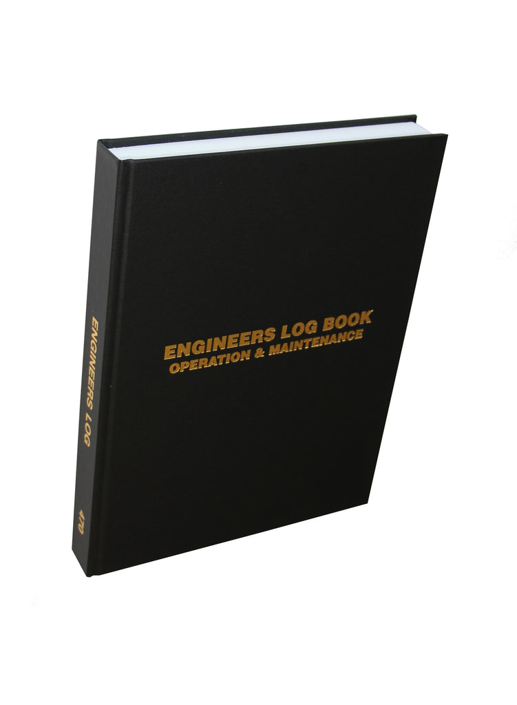 Engineers (3 Shifts per page) Log Book #470