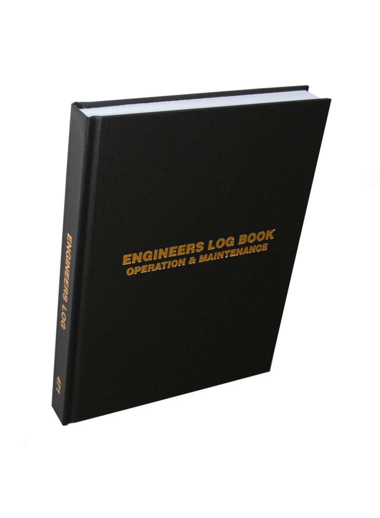 Engineers (1 Shift per page) Log Book #471