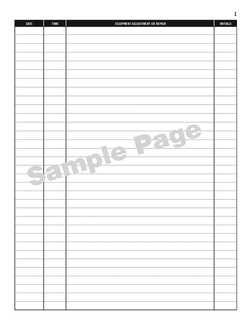 maintenance log book sturdy flexible and affordable log books