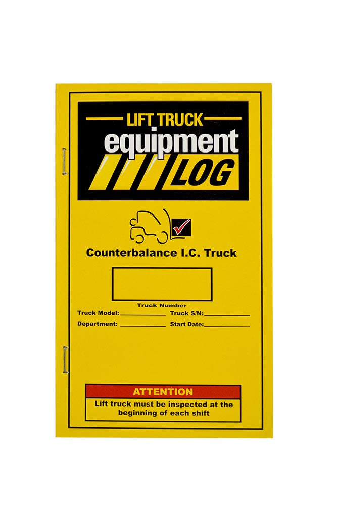 Counterbalance Internal Combustion (Propane) Truck Log + Checklist Caddy #LOG(CB)