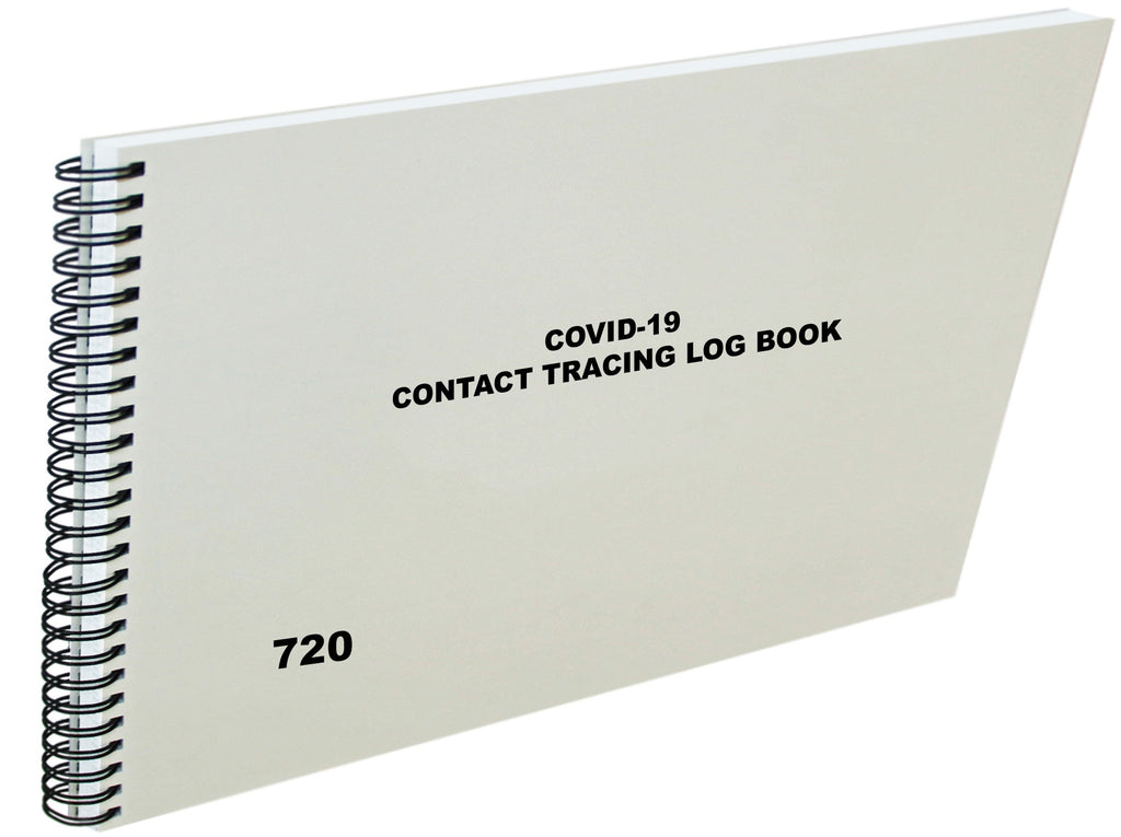 Covid-19 Contact Tracing Log Book #720