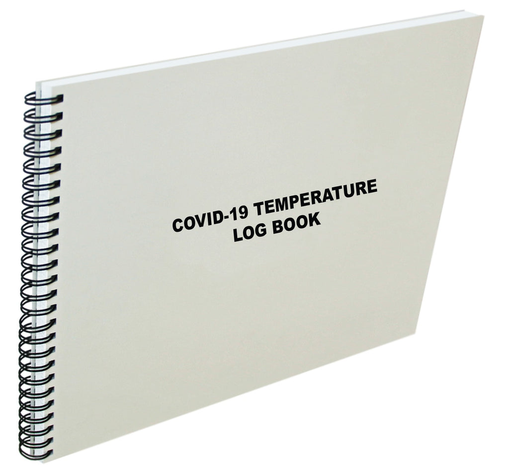 Covid-19 Temperature Log Book #620