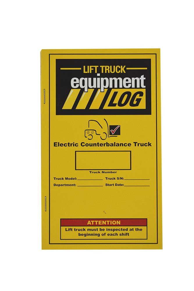 Electric Counterbalance Truck Log + Checklist #LOG(E)