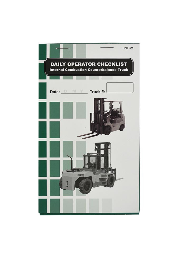 Internal Combustion (Propane) Counterbalance Truck + Checklist Caddy #SCADD(CB)