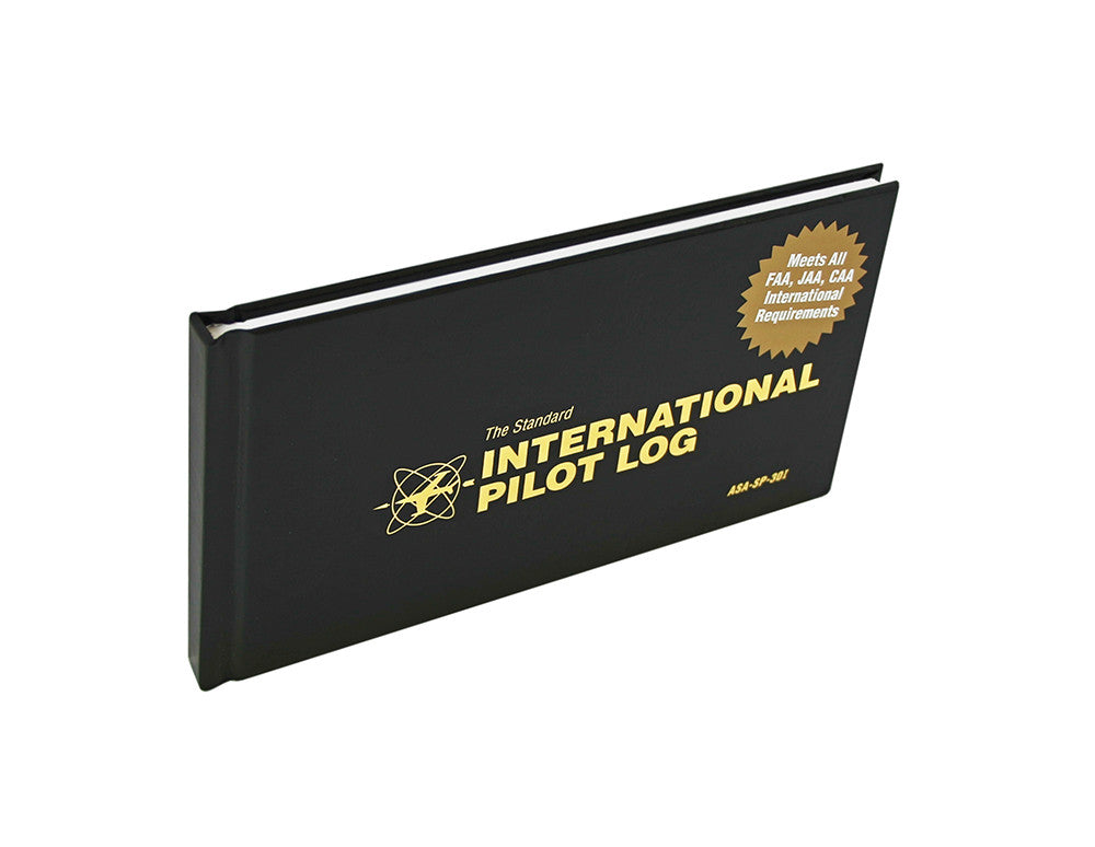 ASA International Pilot Log Front