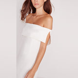 Natalie White Strapless Dress - Lobby