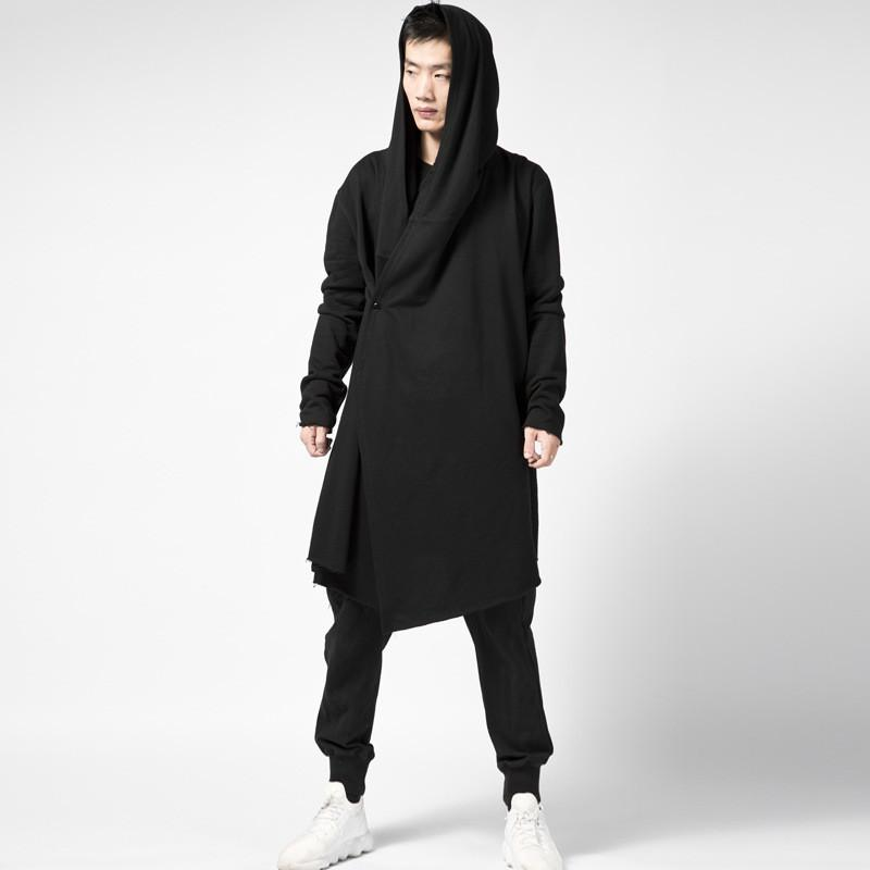 Hazu Hooded Cloak Cardigan - Lobby