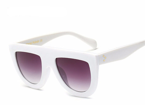 Leila Sunglasses - White - Lobby