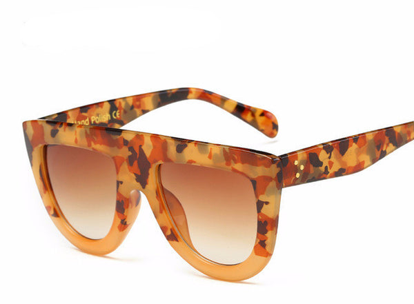 Leila Sunglasses - Brown Camo - Lobby