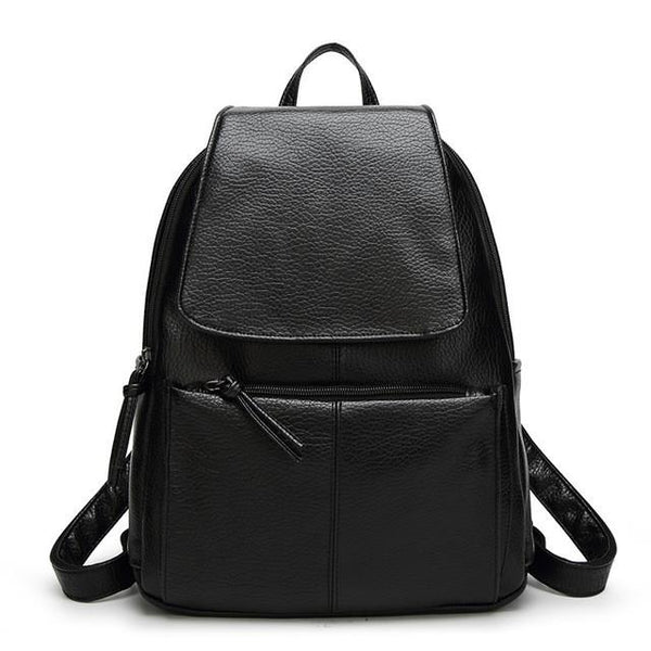 Sha Vegan Leather Backpack - Lobby