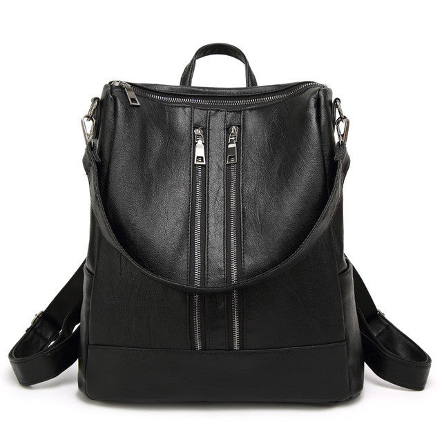 Sko Vegan Leather Backpack - Lobby