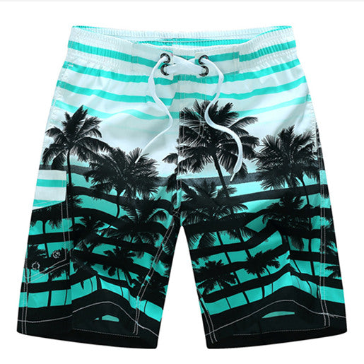 Dominic Palm Tree Swimming Shorts - Lobby
