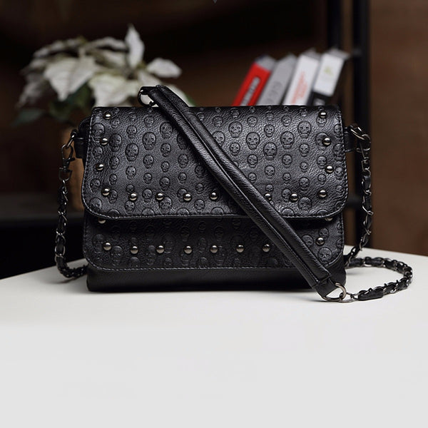 Sousa Black Rivet Women Handbag - Lobby
