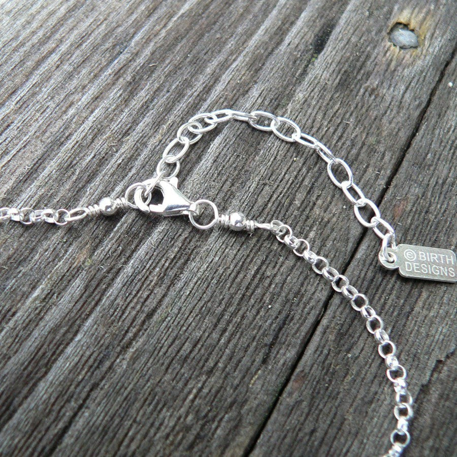 We Love You Grandma...Custom Sterling Necklace
