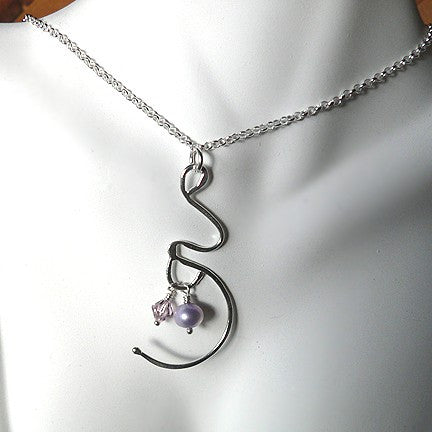 Expectation.  A Pregnancy Necklace.