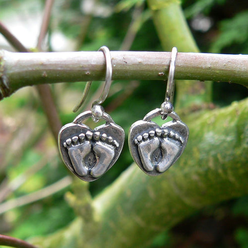 For Love of a Newborn Earrings - Solid Sterling