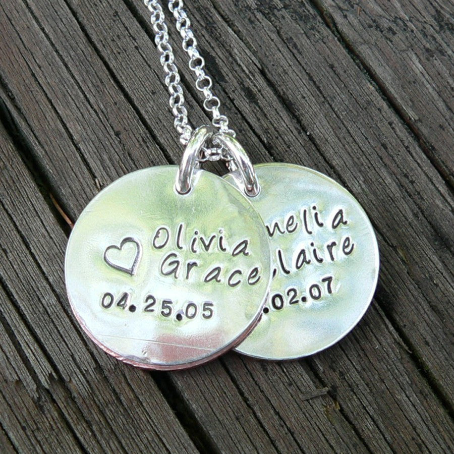 I Wear Your Handprint 2- Customized with Your Childrens' ACTUAL Hand/Footprints