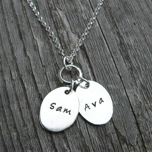 I Wear Your Footprint - Sterling Pendant with Your Childrens ACTUAL Footprint