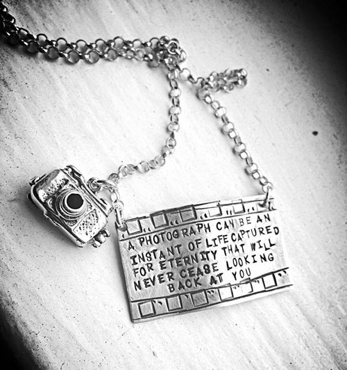 personalized camera birthstone gifts photography photographer market letter etsy necklace il