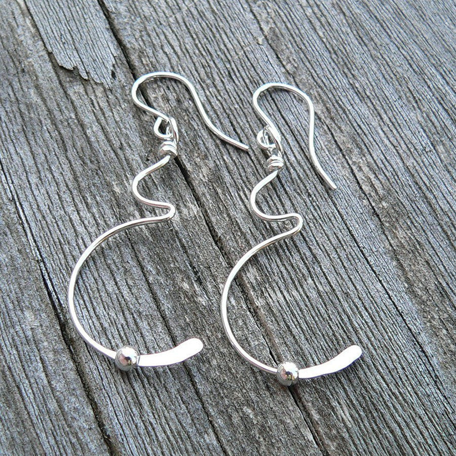 Tiny Movement Pregnancy Earrings