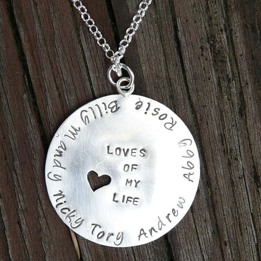 Loves of My Life - Custom Sterling Mother's Necklace