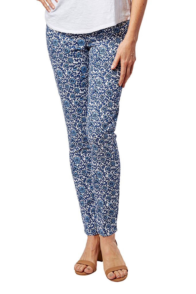 Jasmine Pant - Printed Stretch: FINAL SALE