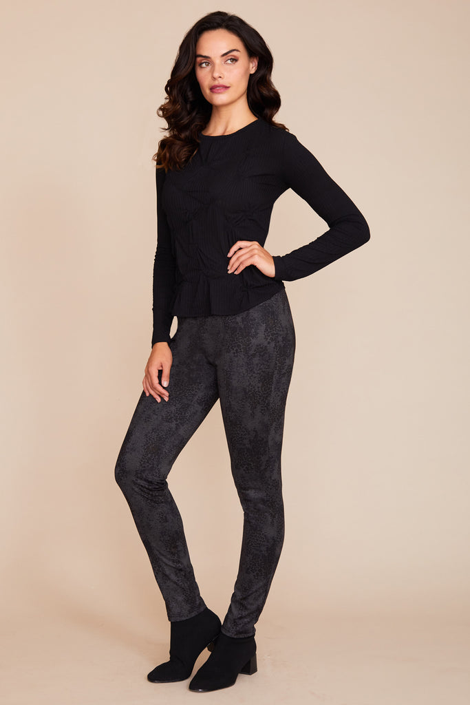Colby Legging - Printed Knit: FINAL SALE
